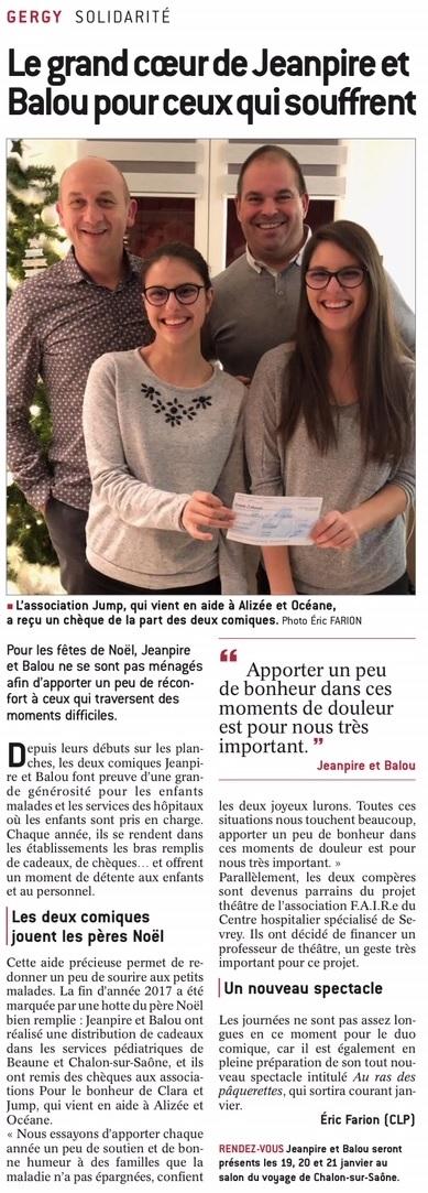 Article JSL Alizée Océane